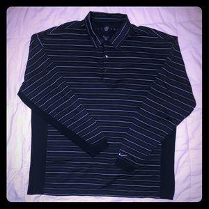 Nike Golf Long Sleeve Golf Polo